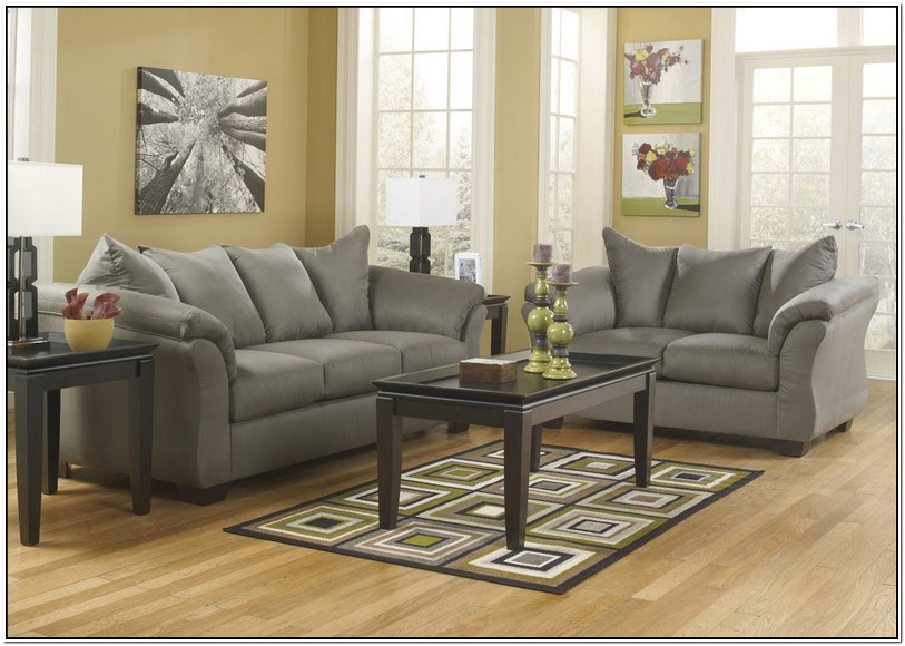 Ashley Darcy Couch And Loveseat