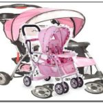Baby Doll Car Seat And Stroller Set