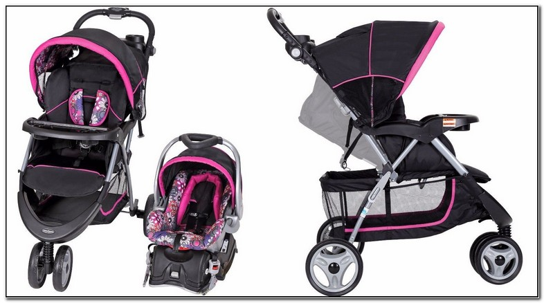 Baby Girl Carseat And Stroller