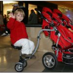 Big Kid Stroller Attachment