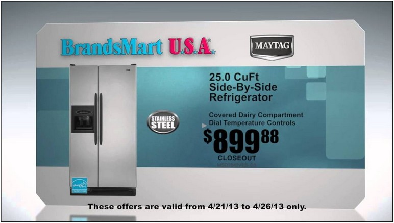 Brandsmart Refrigerators On Sale