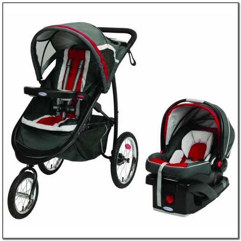 Graco Click Connect Jogging Stroller Used
