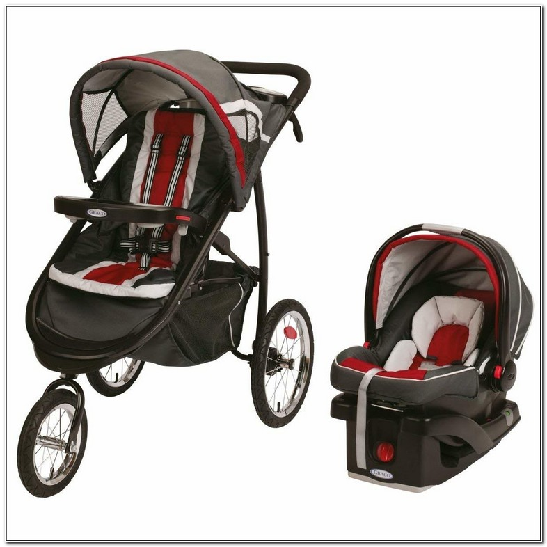 Graco Jogging Stroller With Car Seat
