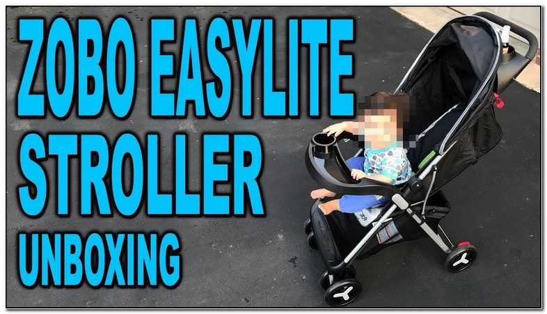 How To Fold Zobo Easylite Stroller