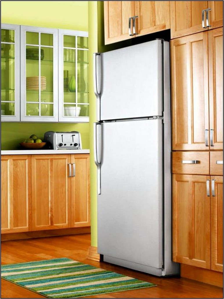 How To Paint A Refrigerator Black Video