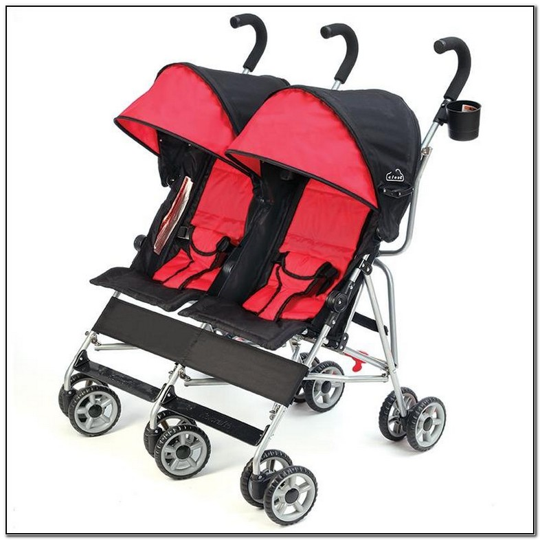 Kolcraft Cloud Umbrella Stroller Double