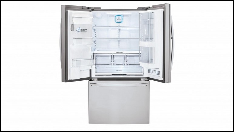 Lg French Door Refrigerator With 2 Ice Makers