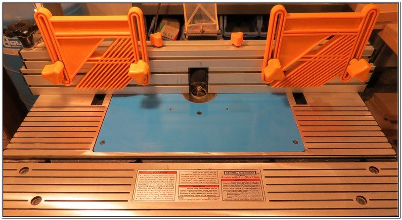 Harbor Freight Router Table Insert