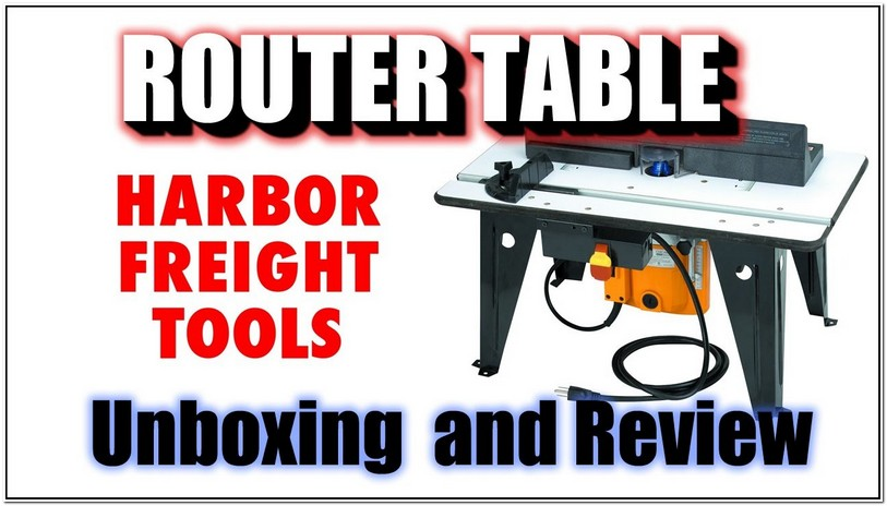 Harbor Freight Router Table Video