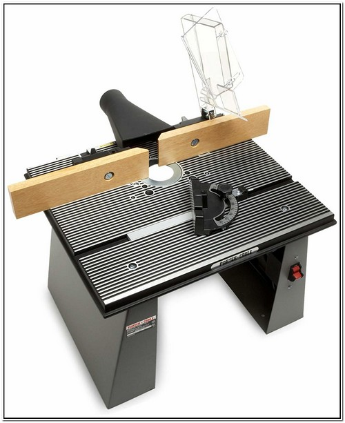 Porter Cable Router Table Plate