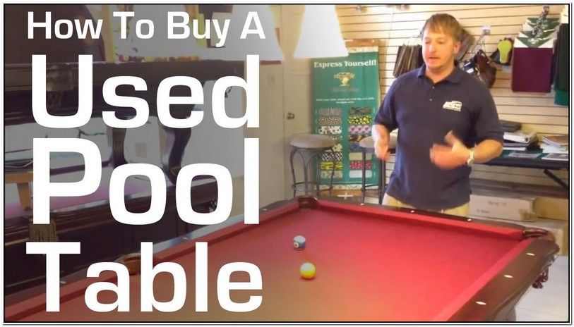 Used Pool Tables For Sale Near Me