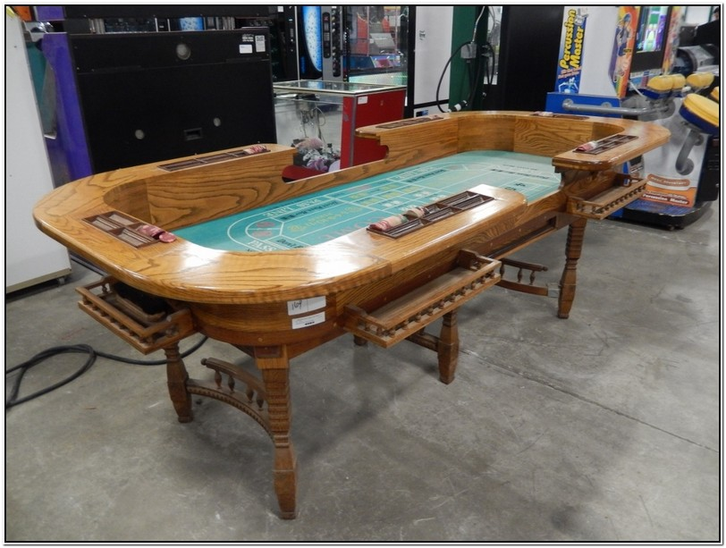Vintage Craps Table For Sale