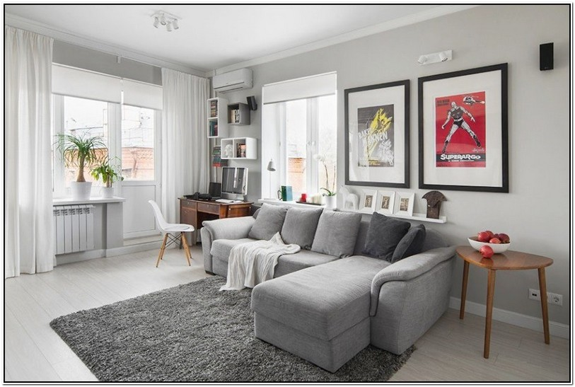 What Colour Rug Goes With Grey Sofa