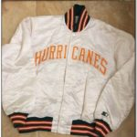 1980 Miami Hurricanes Starter Jacket