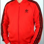 Adidas Jacket Mens Black And Red