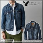 American Eagle Mens Jean Jackets