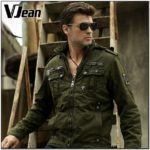 Army Fatigue Bomber Jacket Mens