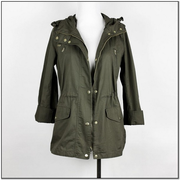 Army Green Utility Jacket Womens