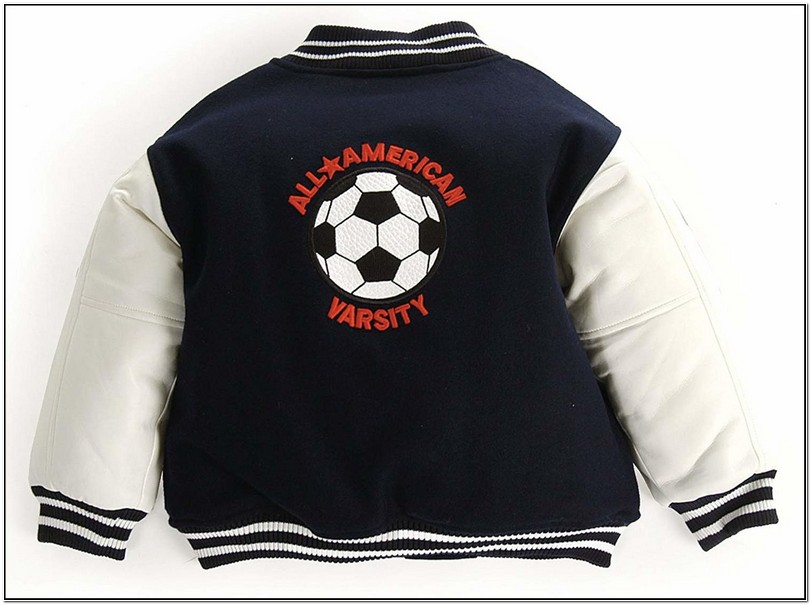 Baby Boy Letterman Jacket
