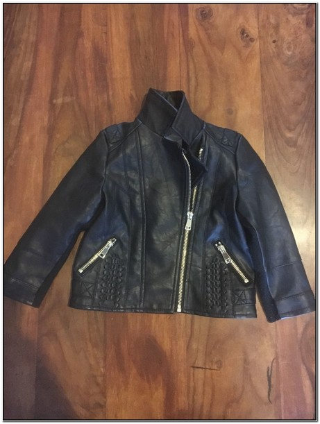 Baby Girl Leather Jacket 18 24 Months
