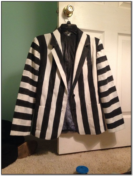 Beetlejuice Jacket Diy