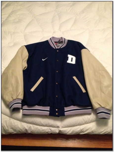Dallas Cowboys Nike Letterman Jacket