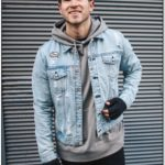Denim Jacket Over Hoodie Mens