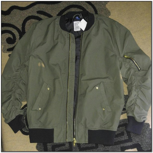 Divided H And M Bomber Jacket