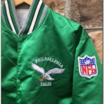 Eagles Starter Jacket Kelly Green