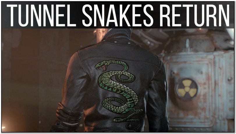 Fallout 4 Tunnel Snakes Jacket Creation Club