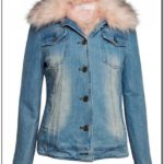 Fur Lined Jean Jacket