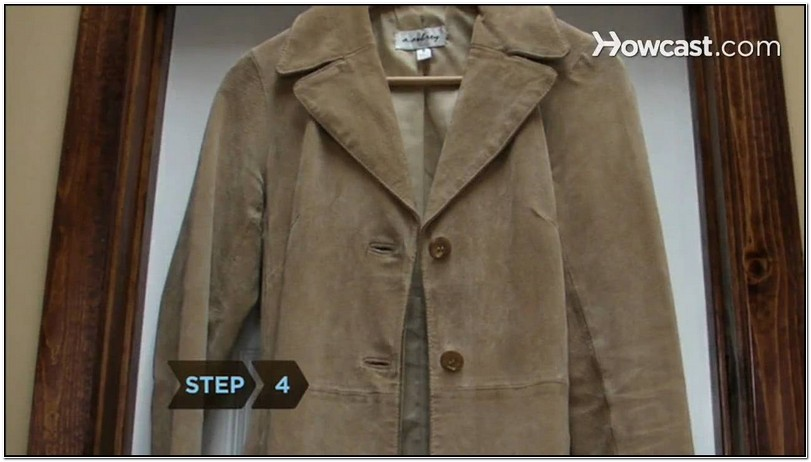 How To Clean Suede Jacket Video