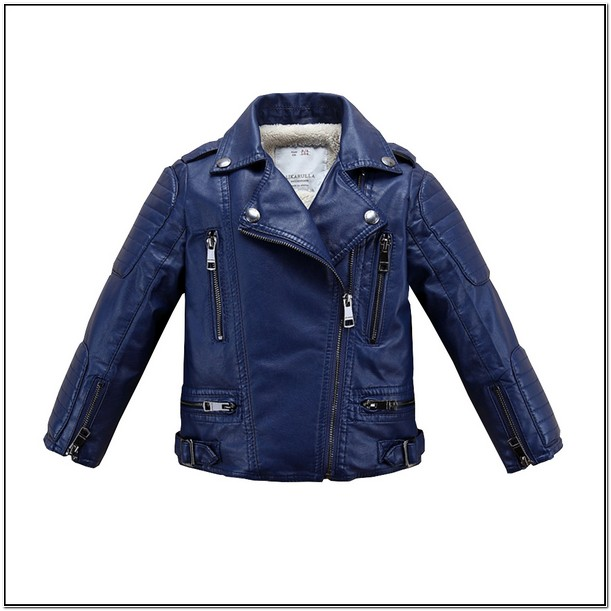 Infant Faux Leather Jacket