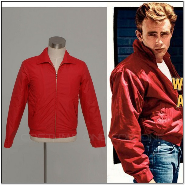 James Dean Red Jacket Ebay