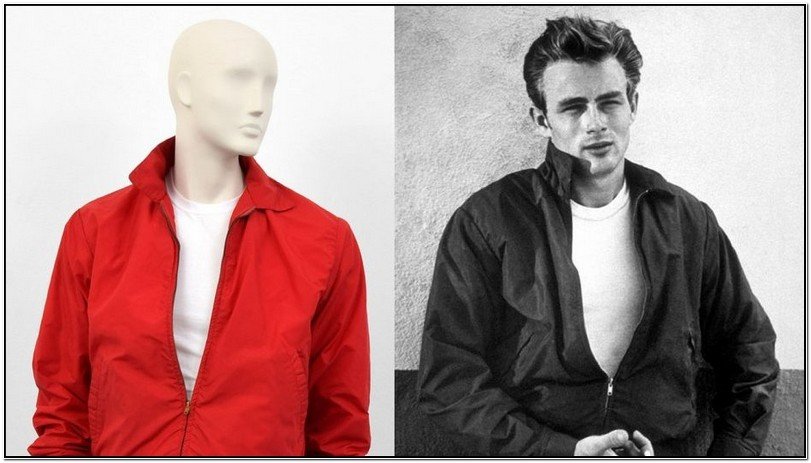 James Dean Red Jacket