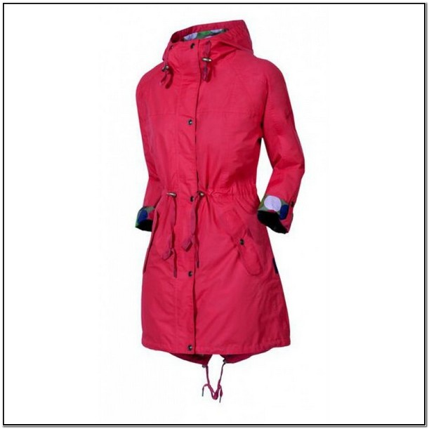 Ladies Rain Jacket With Hood