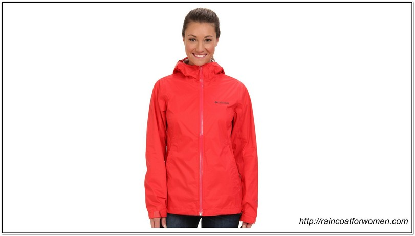 Light Rain Jacket Womens