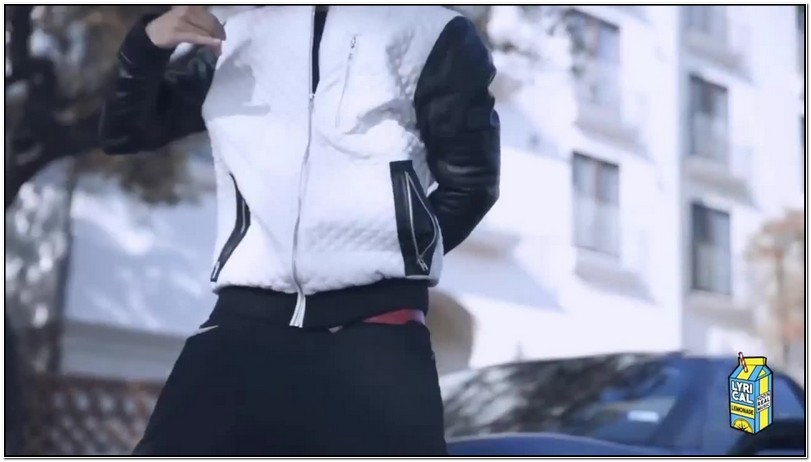 Lil Pump Jacket White And Black