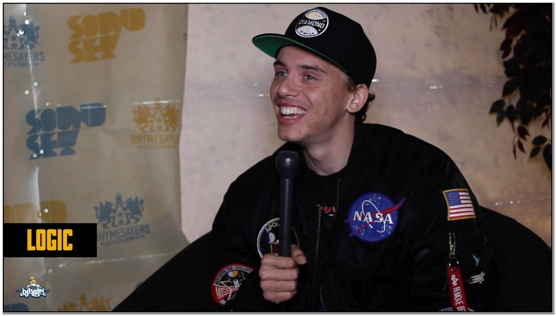 Logic Rapper Nasa Jacket