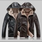 Mens Leather Jackets With Fur Hood