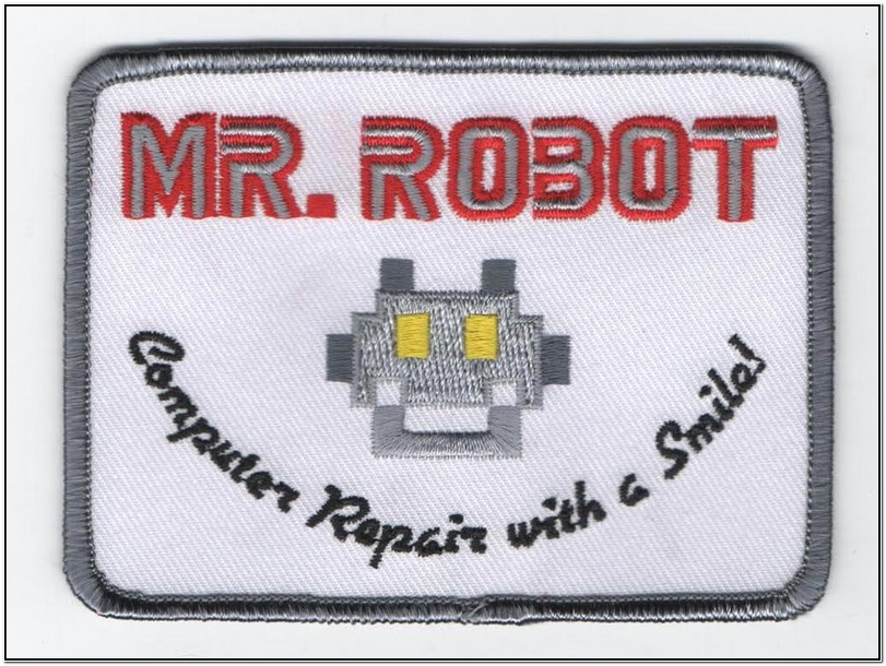 Mr Robot Jacket Patch