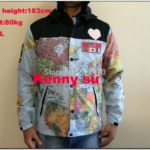 North Face Supreme Map Jacket Aliexpress