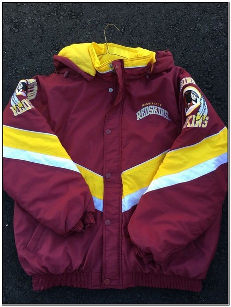 Old School Redskins Starter Jacket