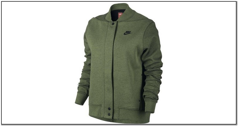 Olive Green Nike Tech Jacket