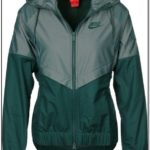 Olive Green Nike Windbreaker Womens