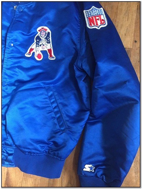 Patriots Starter Jacket Satin