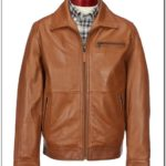 Roundtree And Yorke Buffalo Leather Jacket