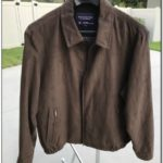 Roundtree And Yorke Leather Jacket Rn 58909
