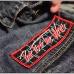 Sewing Patches On Jean Jacket