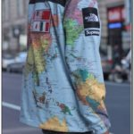 Supreme North Face Map Jacket For Sale